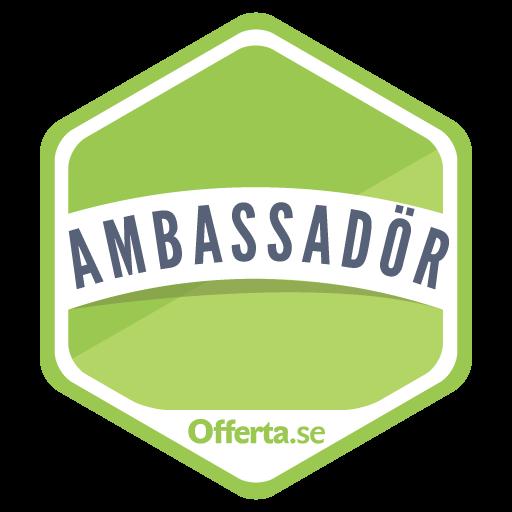 Bygg Vvs El Stockholm AB är en Offerta Ambassadör. Det innebär att de under en längre tid arbetat framgångsrikt med Offerta och är framstående vad gäller omdömen, aktivitet och kundnöjdhet.
