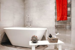 Lyxigt badrum i Solsidan